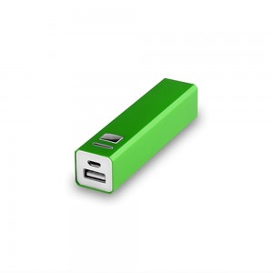 Power bank 2200 mAh V3336-06 (kolor: zielony)