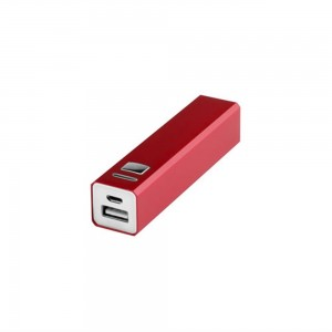 Power bank 2200 mAh V3336-05 (kolor: czerwony)